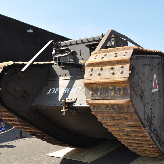"""Mark IV Tank"" stock image"