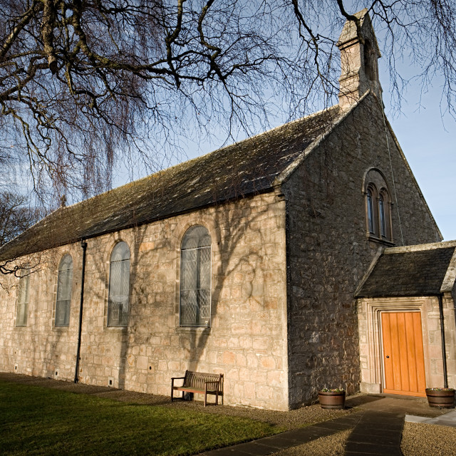 """""""St. Andrews, Lhanbryde & Urquhart Church"""" stock image"""