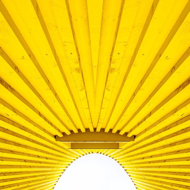 """Yellow minimalism"" stock image"