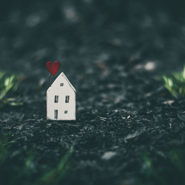 """""""Home sweet home"""" stock image"""
