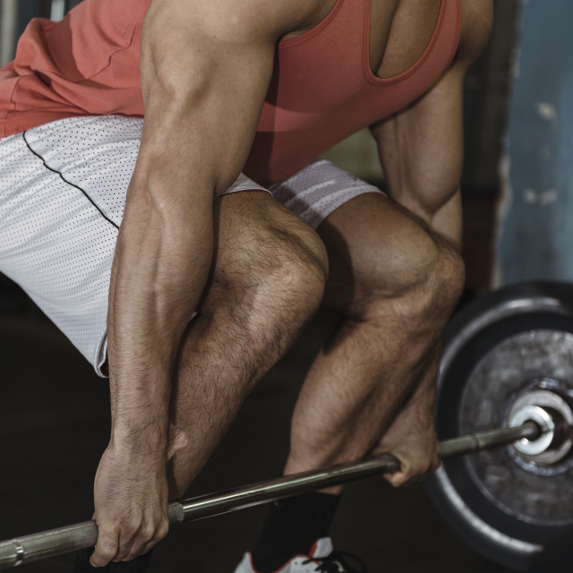 """Weightlifting training"" stock image"