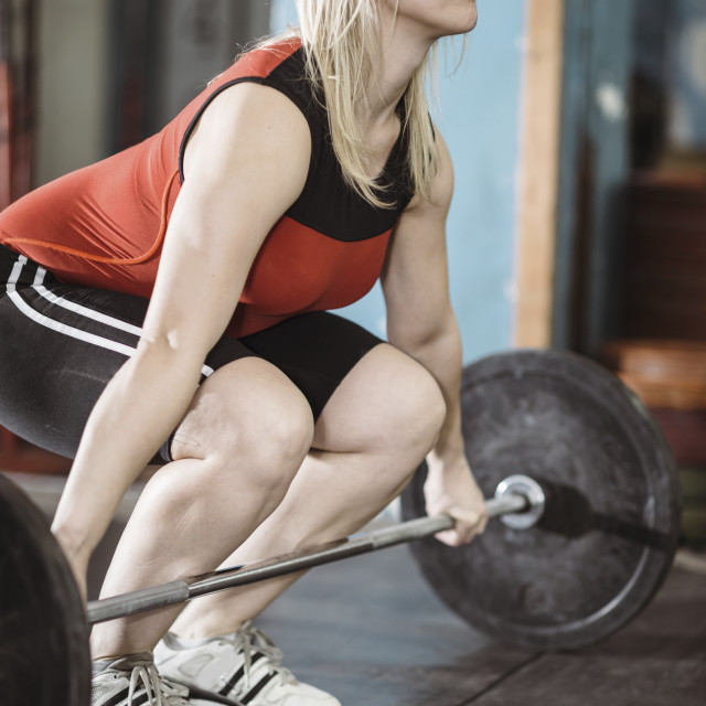 """Weightlifting"" stock image"
