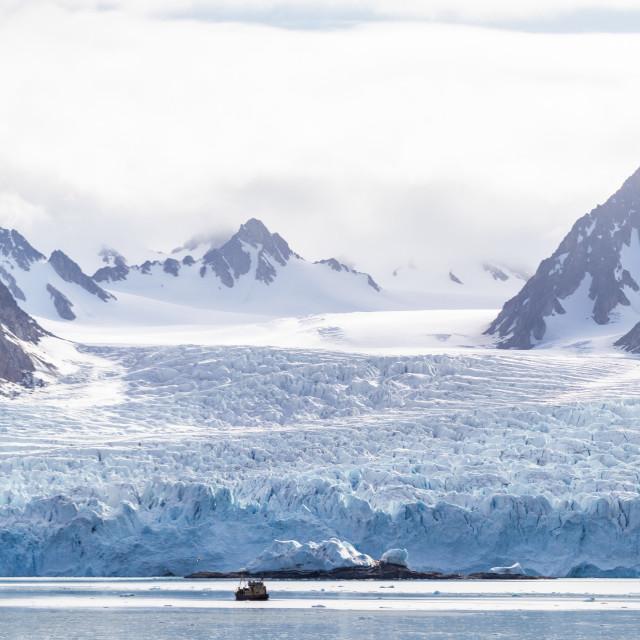 """Svalbard Landscape"" stock image"