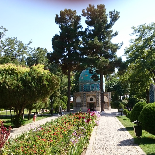 """Mausoleum of Attar of Nishapur (Neyshabur)"" stock image"