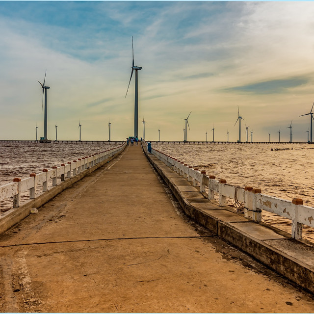 """Wind Power Plant"" stock image"