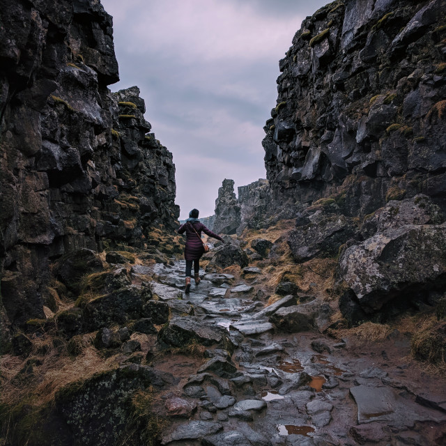 """Thingvellir National Park"" stock image"