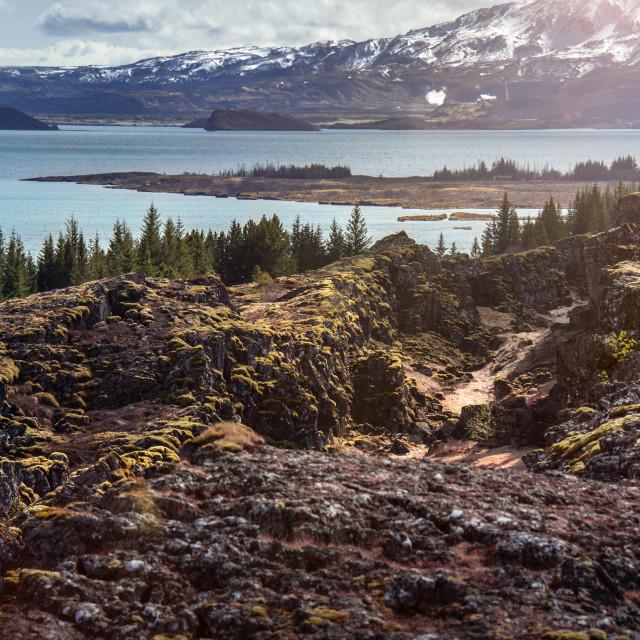 """Þingvellir, Iceland"" stock image"