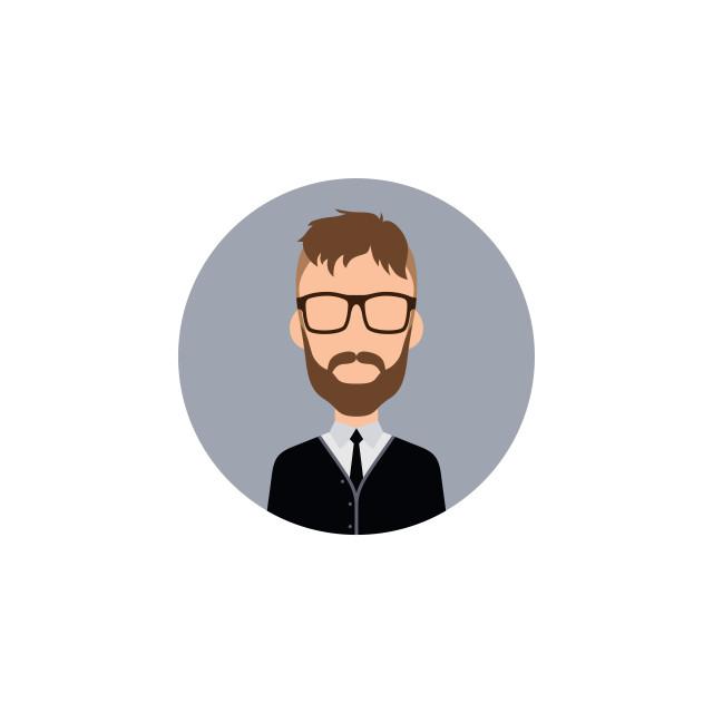 """gentleman hipster worker avatar"" stock image"