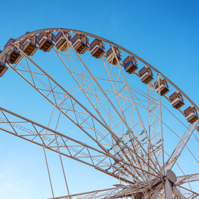 """Budapest Eye Ferris Wheel View"" stock image"