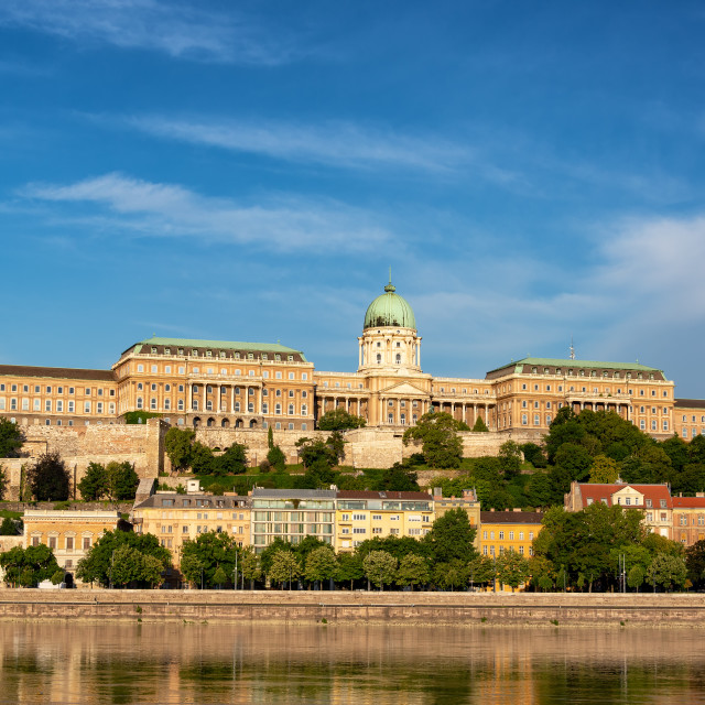 """Hungarian National Gallery View"" stock image"