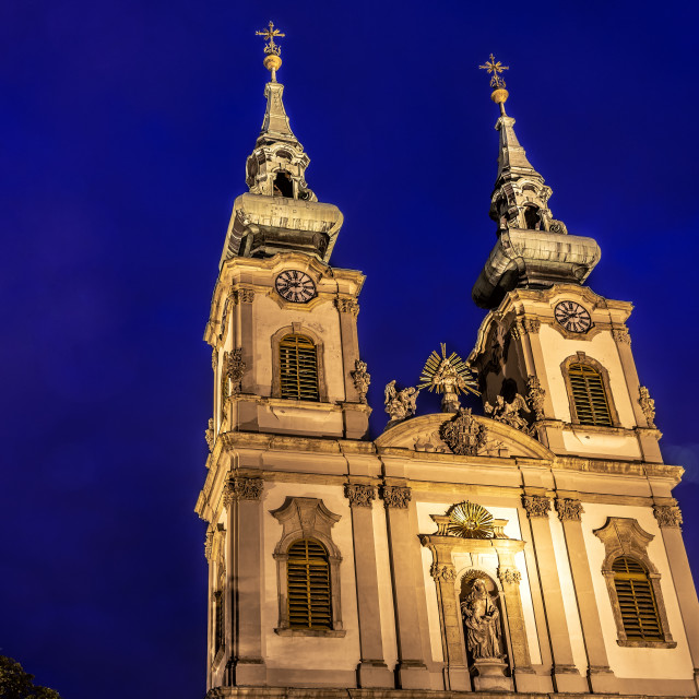 """St Annes Church in Budapest"" stock image"