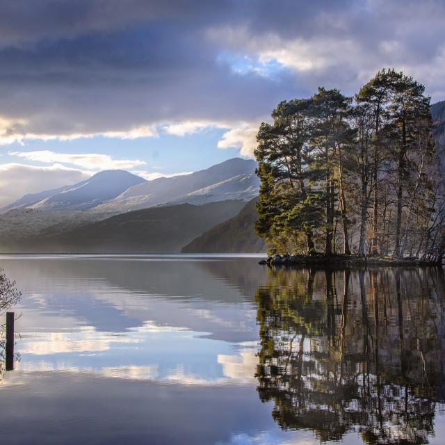 """Loch Tay"" stock image"