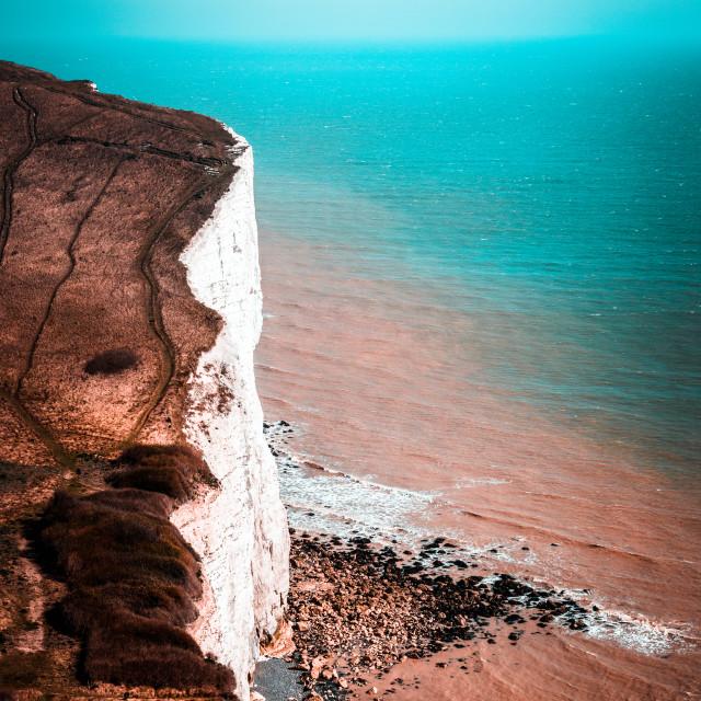 """White Cliffs"" stock image"