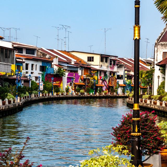 """Malacca, Malaysia"" stock image"