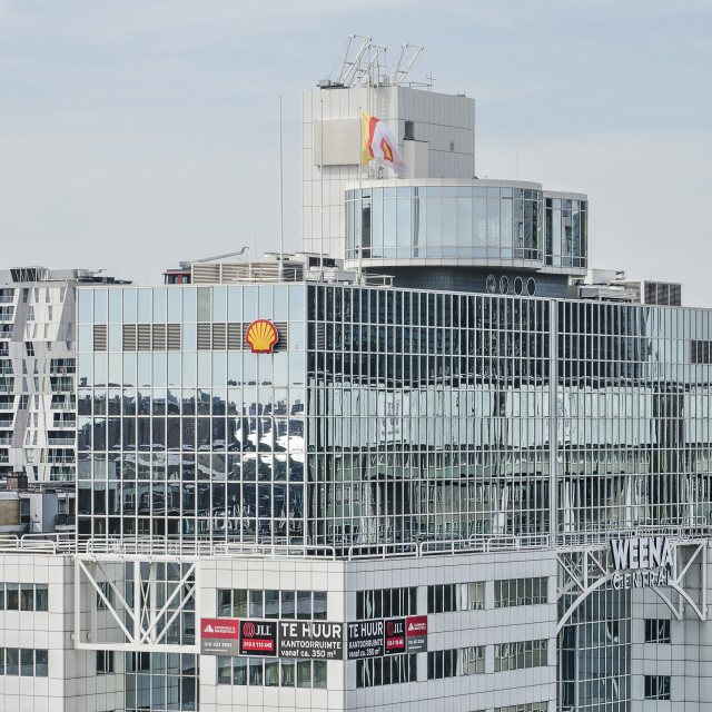 """""""Rotterdam Weena Central office building"""" stock image"""