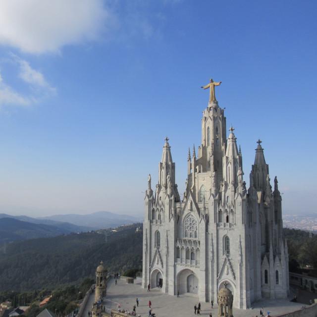 """Tibidabo Cathedral"" stock image"