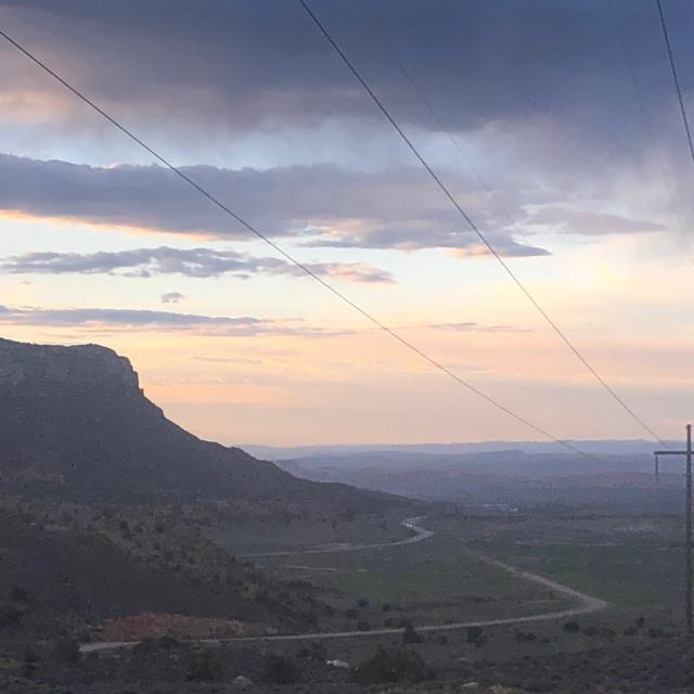 """""""Moab sunset"""" stock image"""