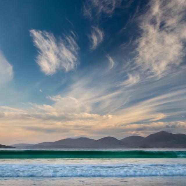 """Luskentyre Beach"" stock image"