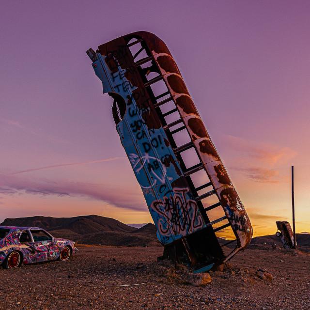 """The Last Sunset"" stock image"