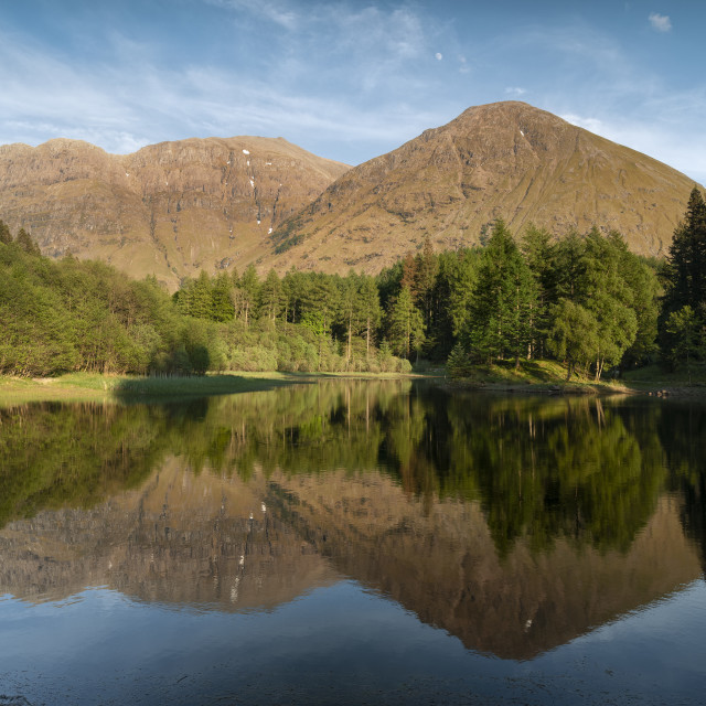 """Torren Lochan Glencoe"" stock image"