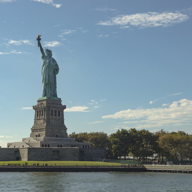 """""""Statue Of Liberty In New York City"""" stock image"""