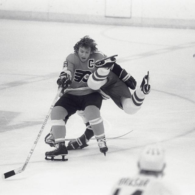 """NHL Flyers Bobby Clarke"" stock image"