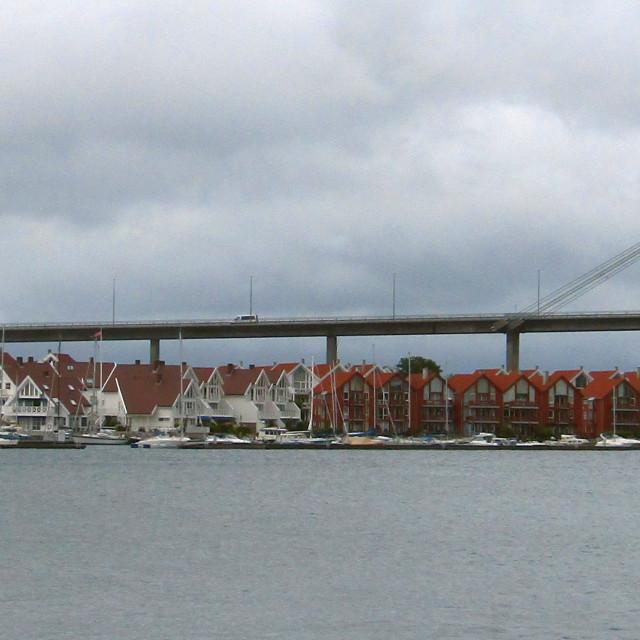"""""""Bybrua bridge in Stavanger, Norway"""" stock image"""