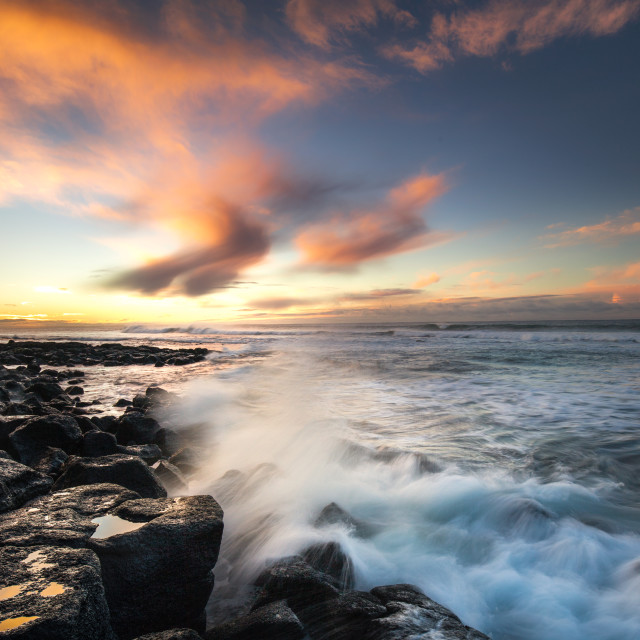 """Port Fairy Sunrise"" stock image"
