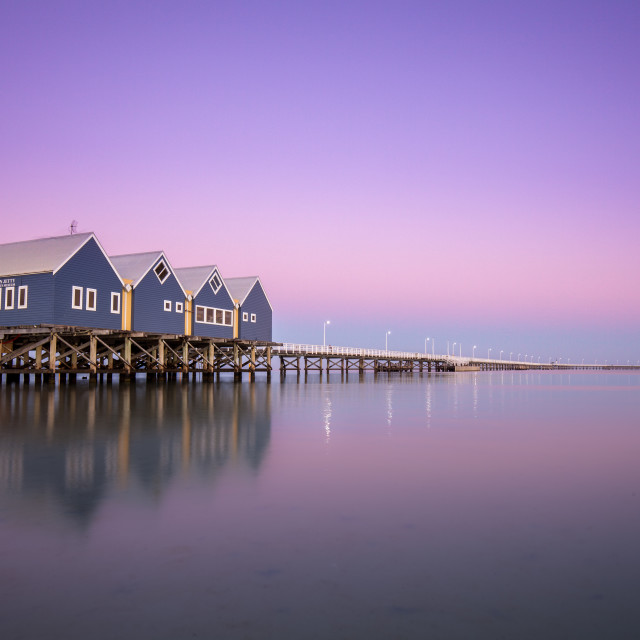 """Busselton Jetty Sunrise"" stock image"