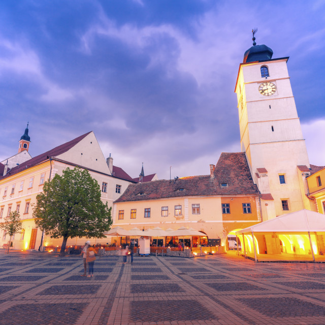 """Council Tower of Sibiu"" stock image"