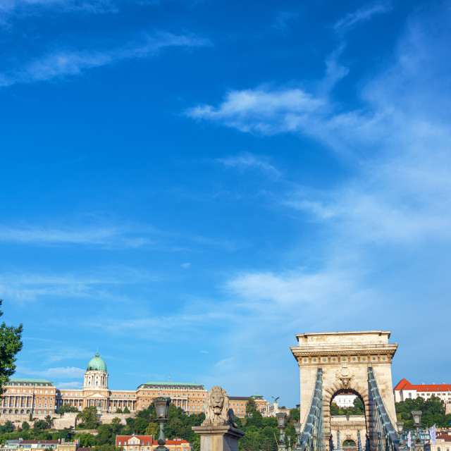 """""""Budapest Cityscape View"""" stock image"""