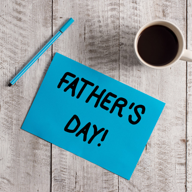 """""""Conceptual hand writing showing Father S Day. Business photo showcasing day..."""" stock image"""