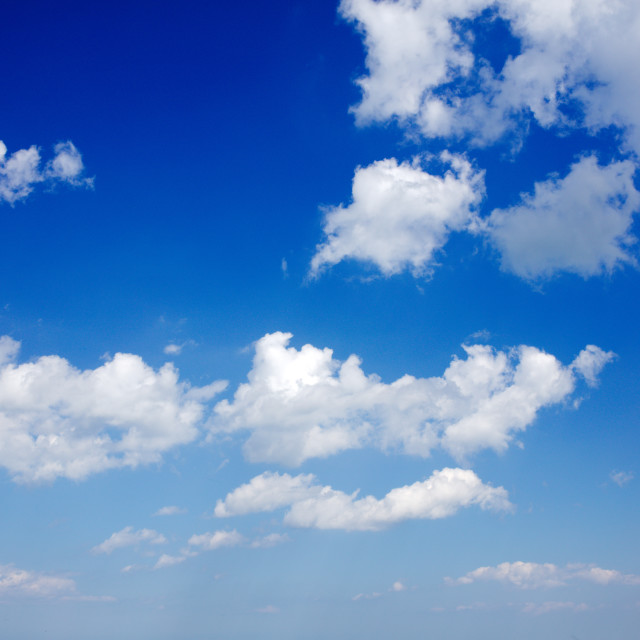 """""""Sky With Clouds"""" stock image"""