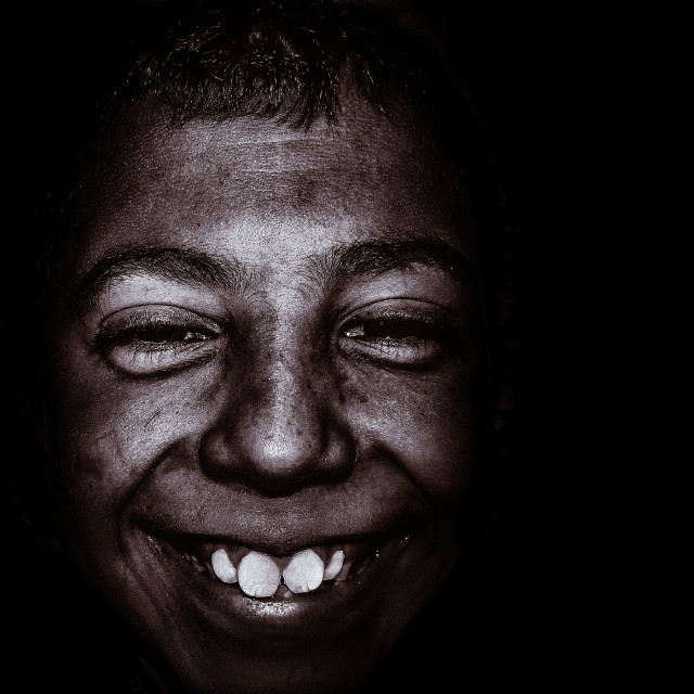 """""""African Smile"""" stock image"""