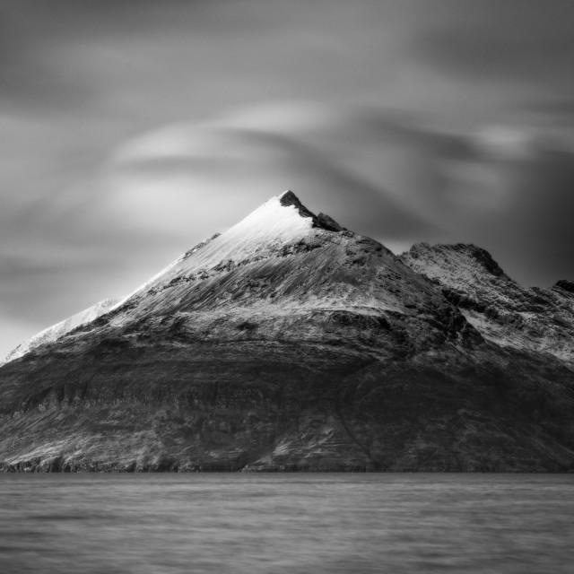 """""""Monochrome mountain"""" stock image"""