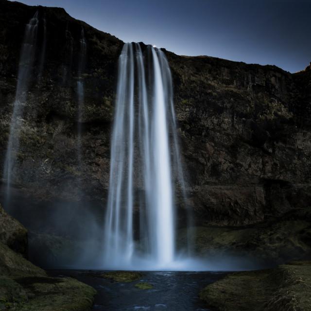 """""""Seljalandsfoss waterfall, Iceland"""" stock image"""