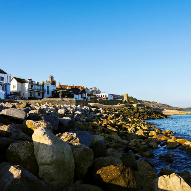 """Lyme Regis, Dorset."" stock image"