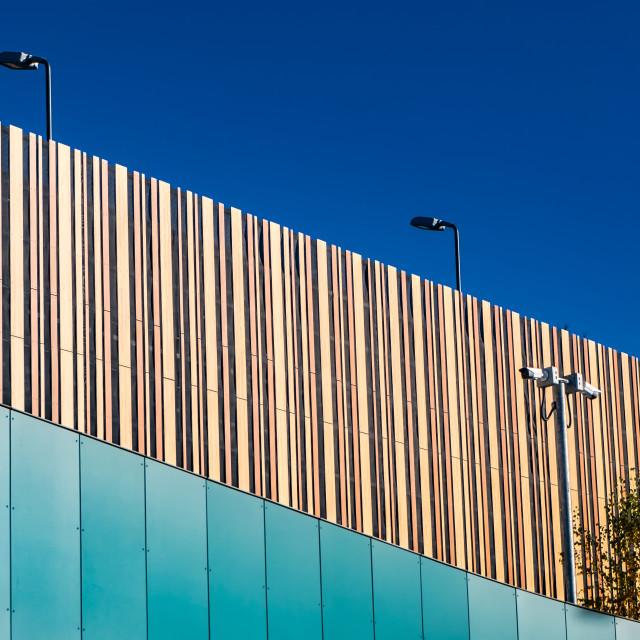 """""""Views of Bracknell - taken November 2018"""" stock image"""