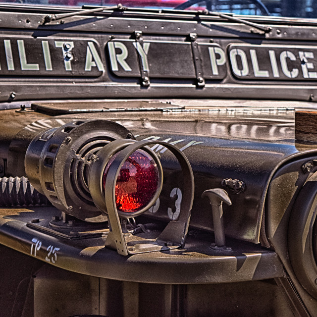 """Military Police"" stock image"