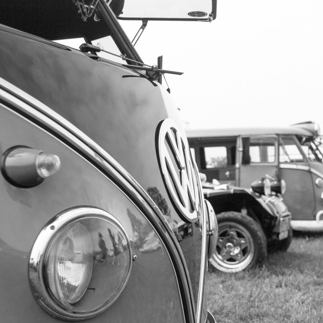 """""""VW Campers"""" stock image"""