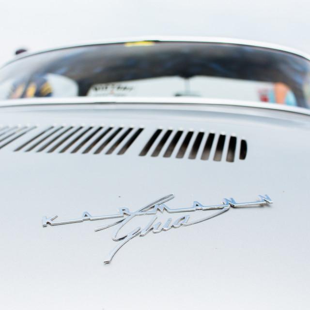 """""""Volkswagen Karmann Ghia."""" stock image"""