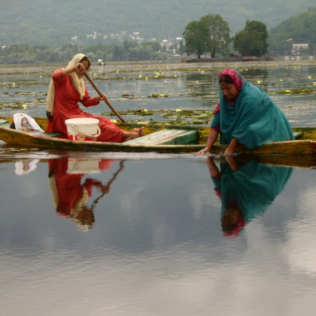 """India Srinagar"" stock image"