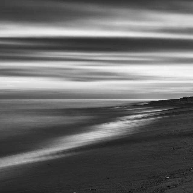 """""""Sky, Sea, Beach"""" stock image"""
