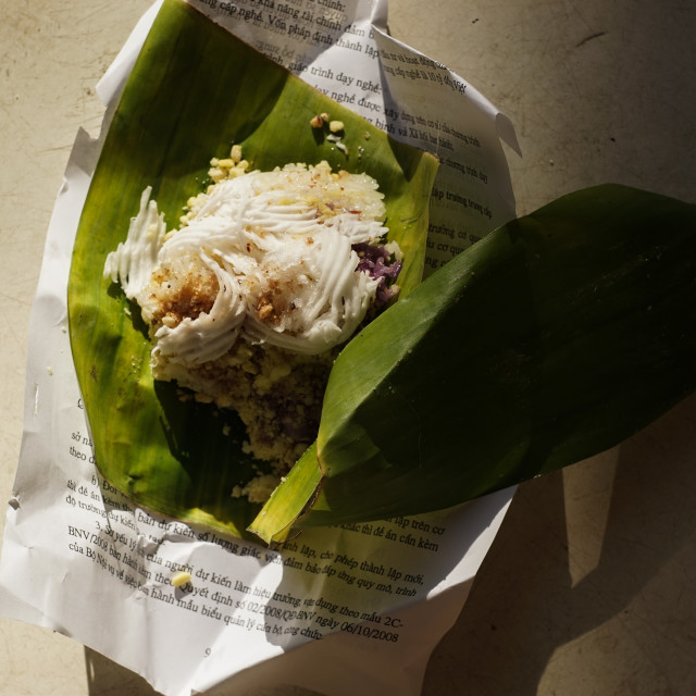 """Sticky rice for the breakfast."" stock image"