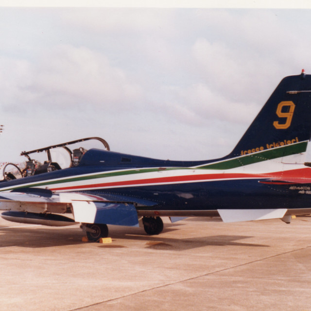 """AERMACCHI MB-339A"" stock image"