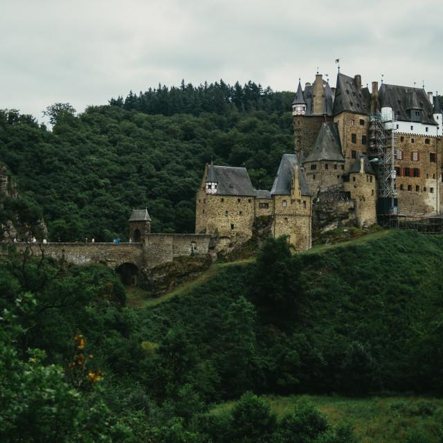 """Burg Eltz"" stock image"