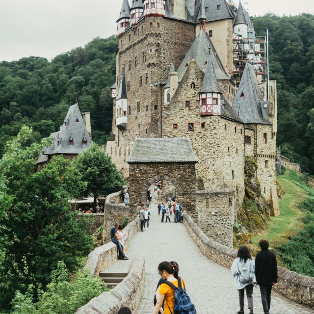 """""""Burg Eltz Germany"""" stock image"""