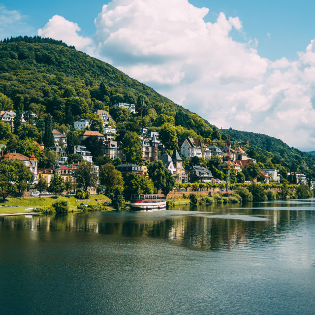 """Heidelberg Hill Landscape View"" stock image"