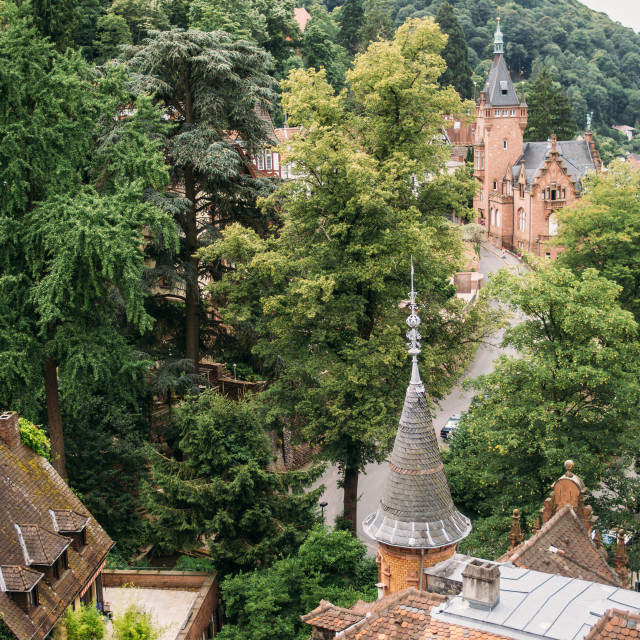 """Castle Hill Heidelberg"" stock image"