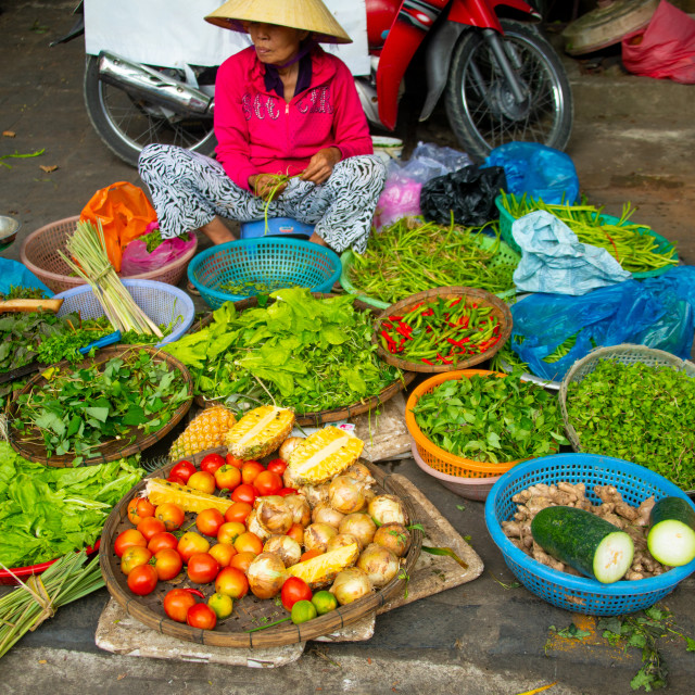 """Vietnamese Market"" stock image"